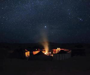 Erg Chegaga at Night